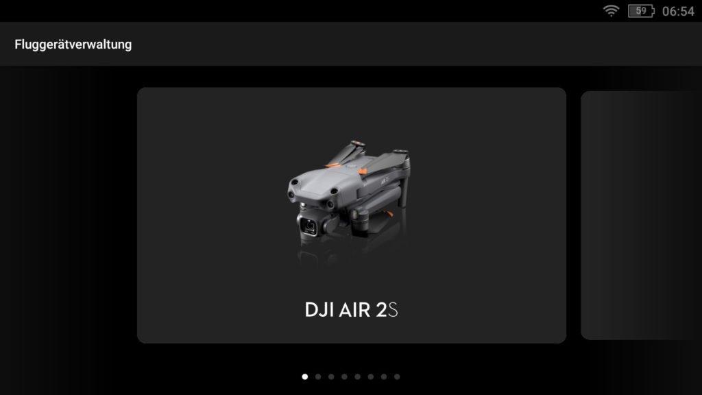 Smart Controller v01.01.0040 mit DJI Air 2S