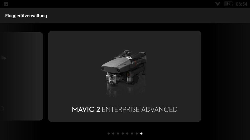 Smart Controller v01.01.0040 mit Mavic 2 Enterprise Advanced
