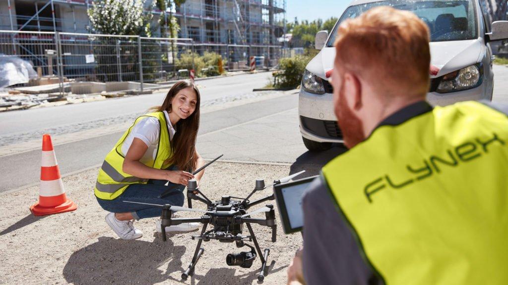 FlyNex Verkehrssicherung von Immobilien