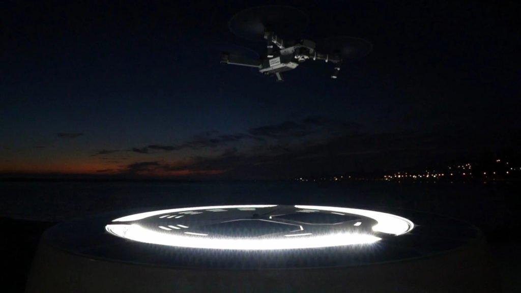 Omniflow Drone Hub Straßenbeleuchtung