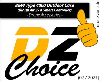 BW Type 4000 Case für DJI Air 2S Smart Controller Award Web