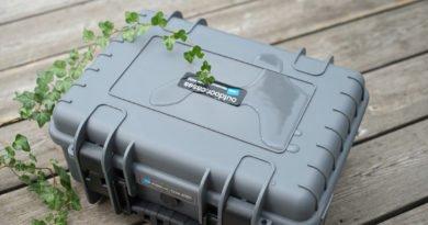 Dank IP67 Standard ist der Koffer wasser- und staubdicht