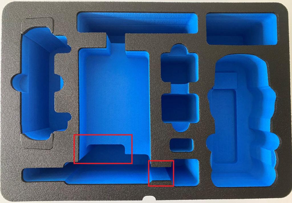 Neues Inlay des Type 4000 Outdoor Case für die DJI Air 2S