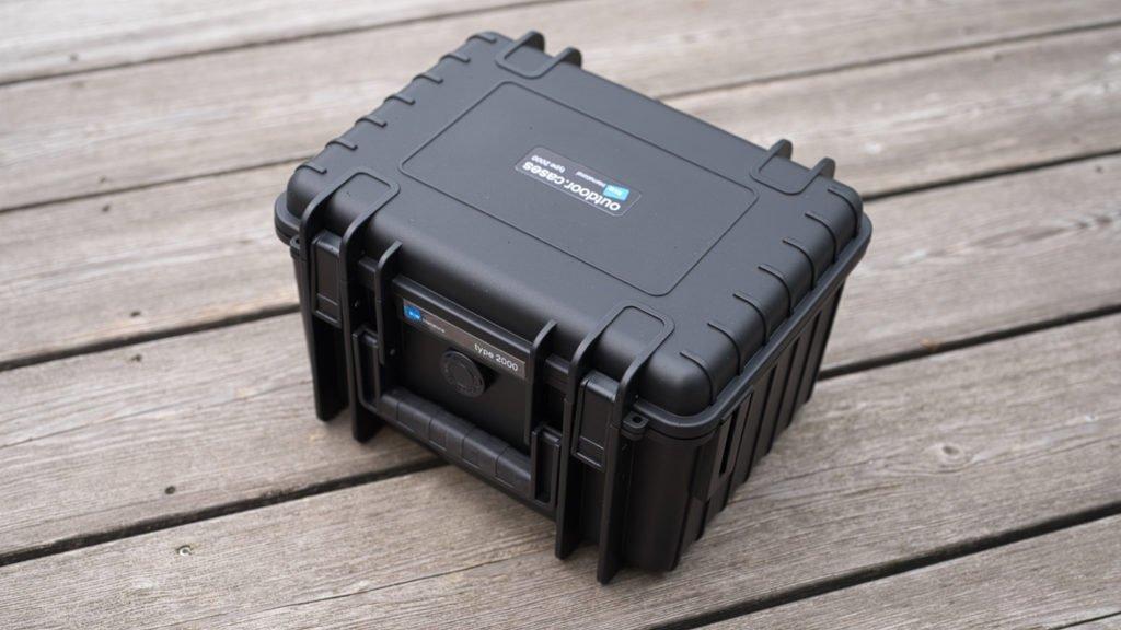 Type 2000 Outdoor Case für DJI Mini 2 - Geschlossen