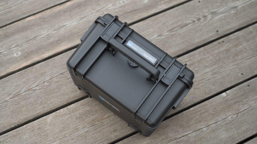 Type 2000 Outdoor Case für DJI Mini 2 - Gummierter Griff