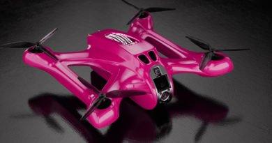 5G-Racing-Drohne von der DRL und T-Mobile USA
