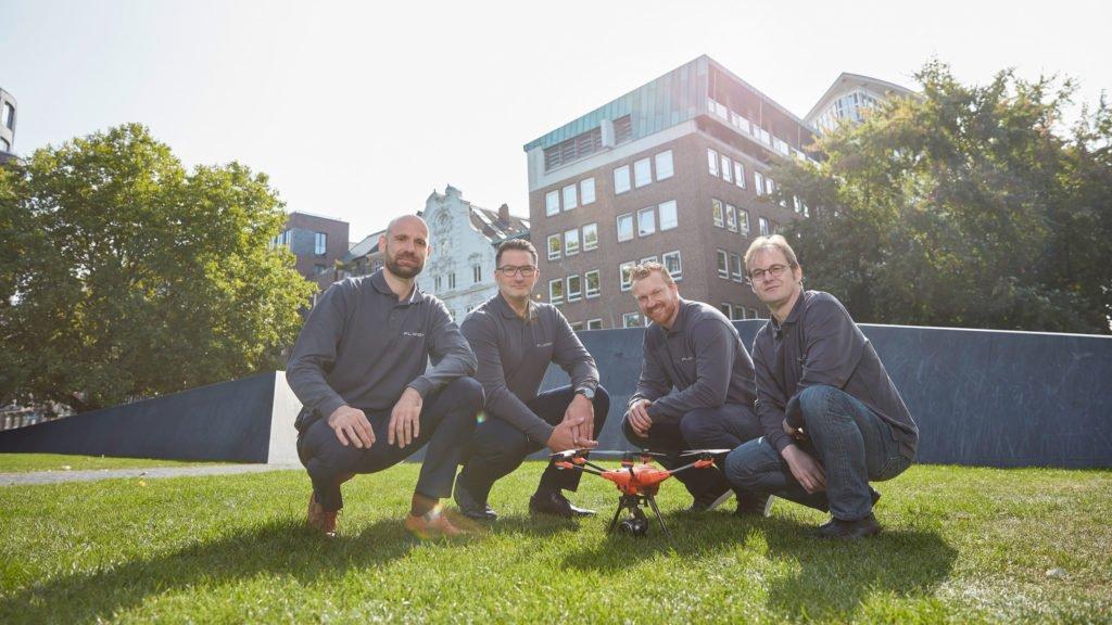 FlyNex Gründerteam