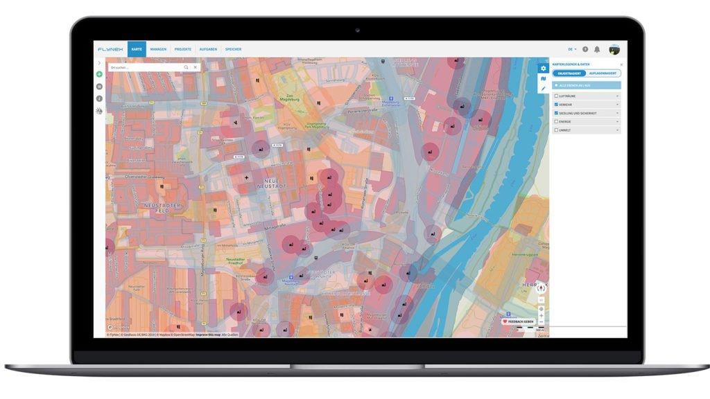 Map2Fly Web Anwendung