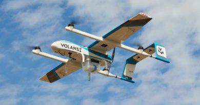 VOLY 10 Drohne im Flug
