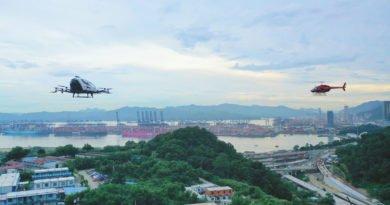 Ehang AAV Pilotprojekt in der Greater Bay Area