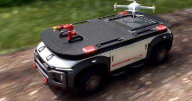 Hyundai Rescue Drone Konzept mit Wasserstoffantrieb