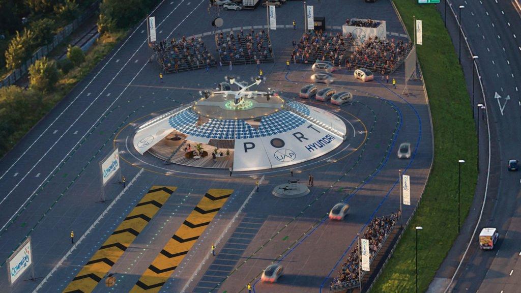 Urban-Air Port und Hyundai zeigen Landeplatz für eVTOLs