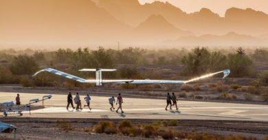 Airbus Zephyr S Drohne Takeoff